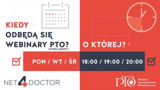 Kiedy odbędą się Webinary PTO? Prezentujemy wyniki ankiety!